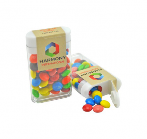 Flip Top Dispenser with Mini M&M's