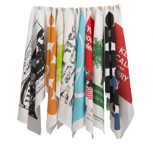 Printed Linen and Cotton Tea Towels