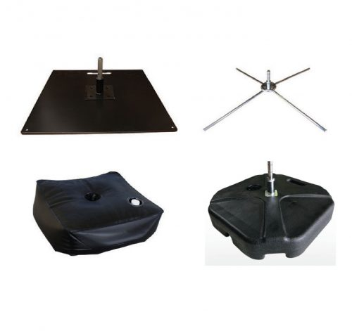 Assorted Base Plates and Accessories
