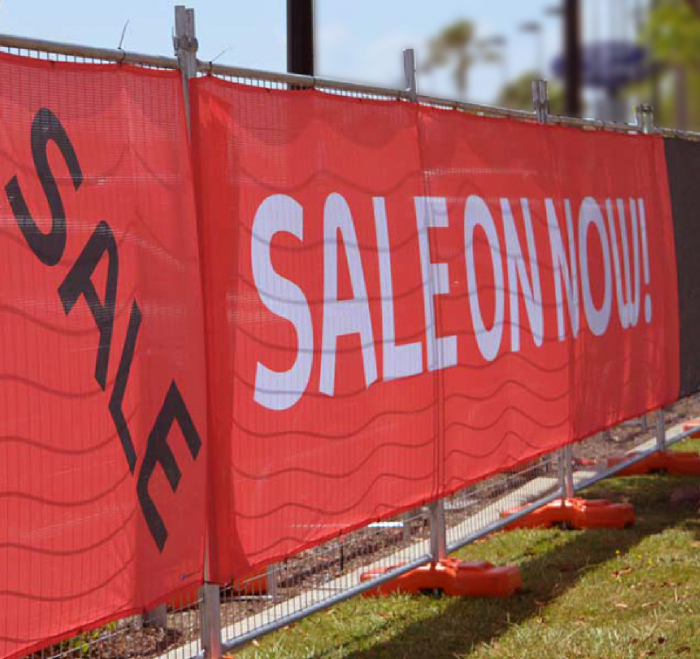 Fence Mesh Banners