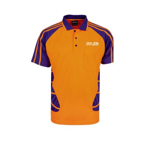 Hi Vis Short Sleeve Spider Polo