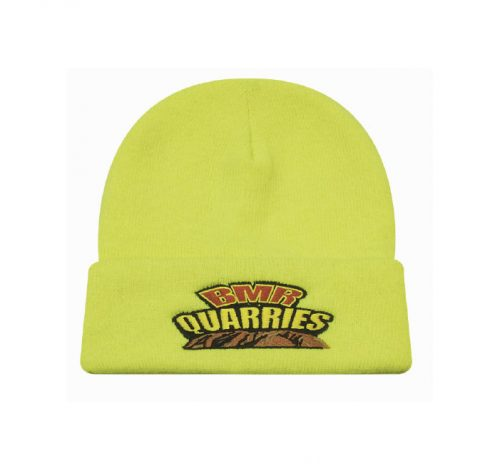 Luminescent Safety Acrylic Beanie - Toque